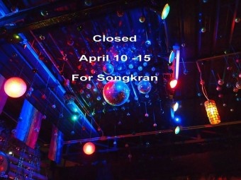 RAM Bar closed for Songkran
