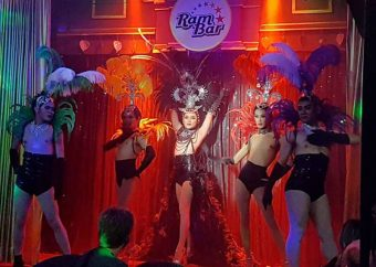 ladyboy dance at ram bar chiang mai