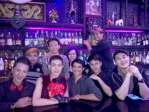 Handsome Friendly staff at Ram Bar Chiang Mai