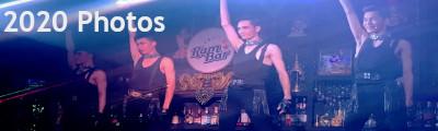 2020 at ram bar - boys dancing on the bar