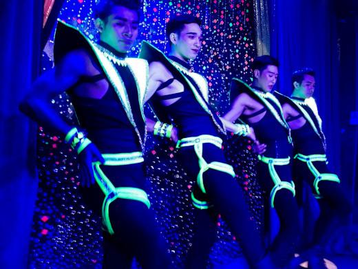 sexy gay boys dancing at ram bar